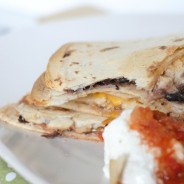 Chicken & Black Bean Quesadilla