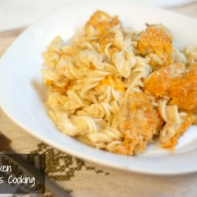 cheesy chicken and noodles