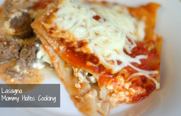 Mom's Healthy Lasagna