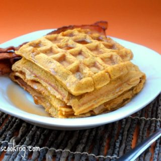 Allergy Free Pumpkin Waffles