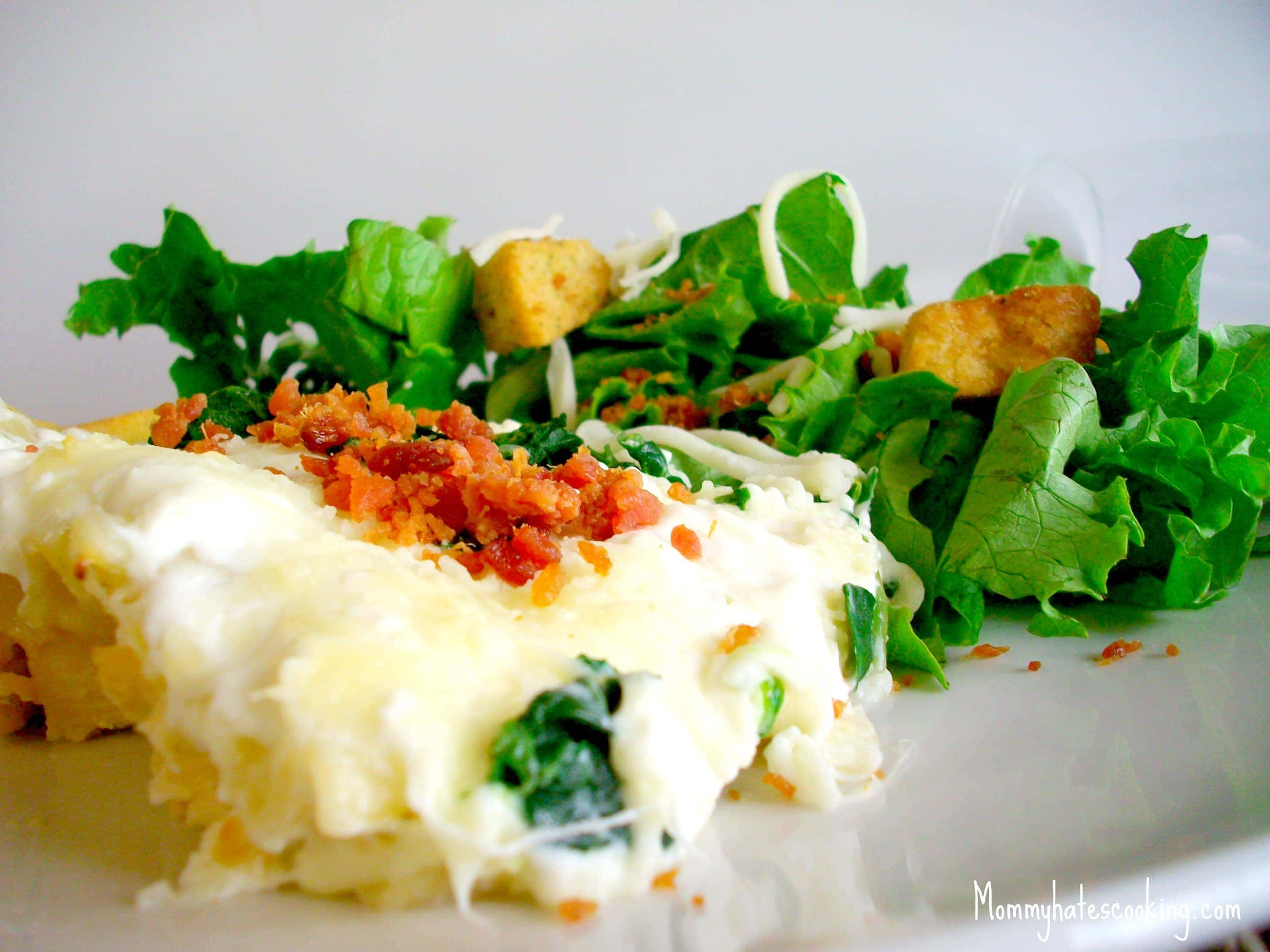 Garlic Chicken Lasagna