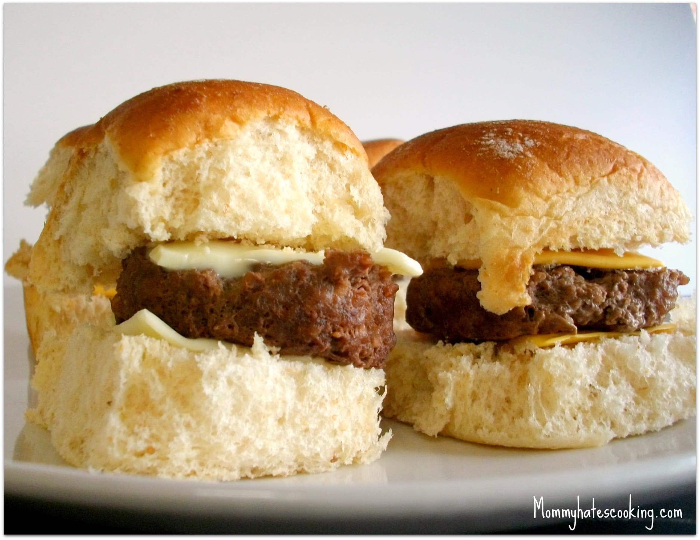 Hamburger Sliders - Mommy Hates Cooking