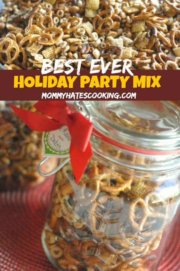 Grandma's Goop or Holiday Party Mix