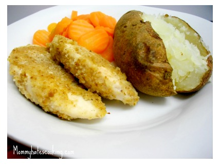 Honey Dijion Chicken Tenders