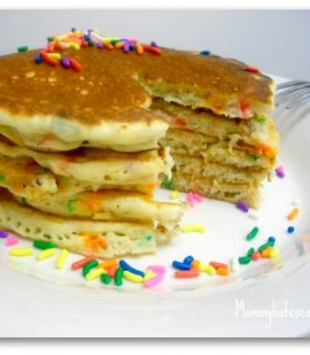 Picky Eaters: Banana Pizzazz Pancakes