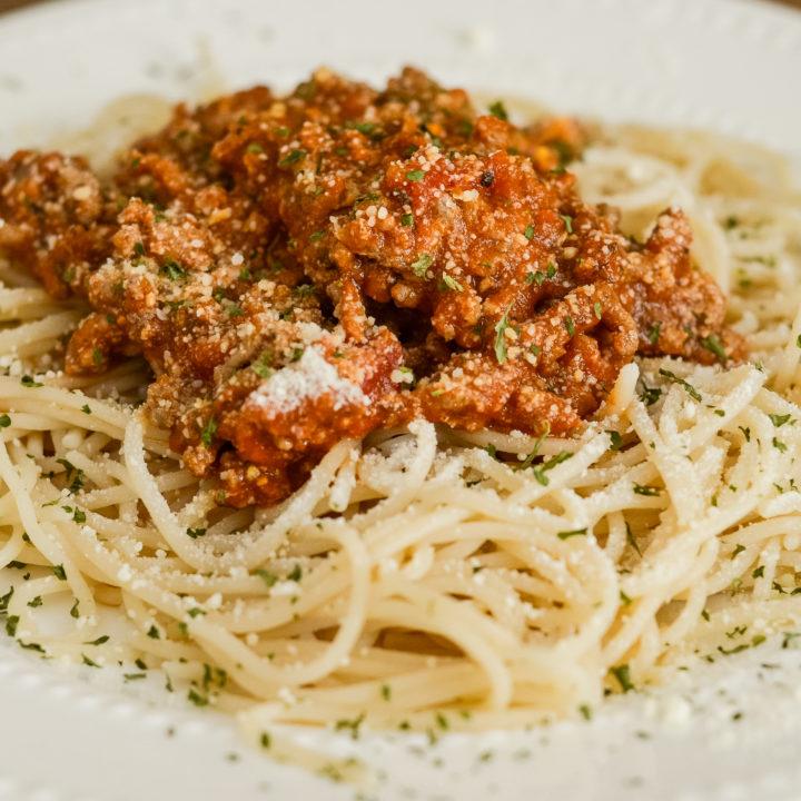 Easy Ranch Spaghetti