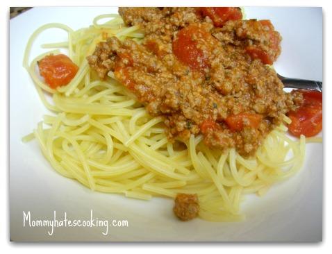 Ranch Style Spaghetti