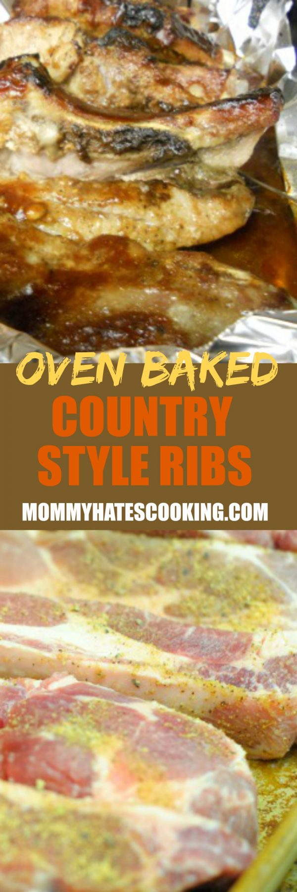 how to make oven baked country style ribs