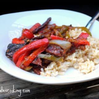 Toni's Beef and Peppers