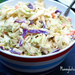 BBQ Spice Homemade Coleslaw