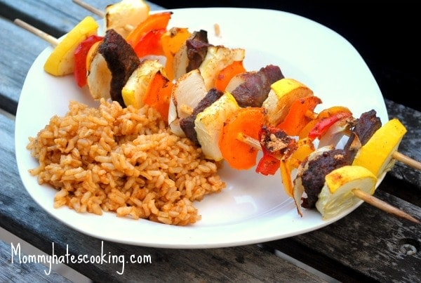 Mexi Steak Kabobs