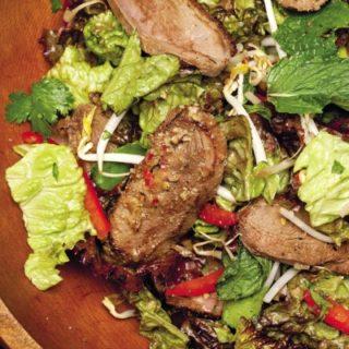 Emeril Recipe: Wok Seared Duck Salad
