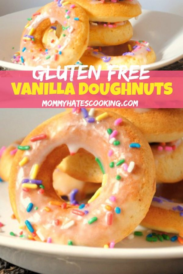 Gluten-Free Baked Vanilla Doughnuts
