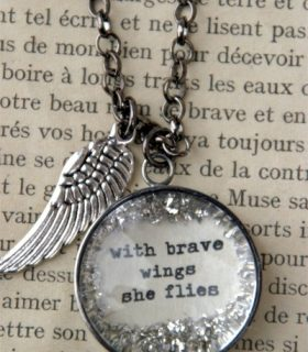 Pinterest Project: Brave Wings
