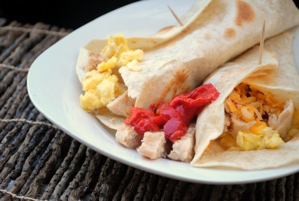 Grilled Essentials Chicken Breakfast Burritos