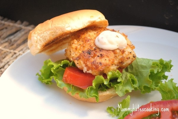 Cod Fish Sandwiches