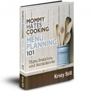 Menu Planning 101 E-Book Sale