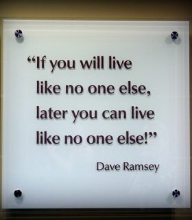 "Pinterest Project: ""Live like no one else"""
