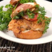 Sister Schubert's Pretzel Roll Italian Chicken Slider