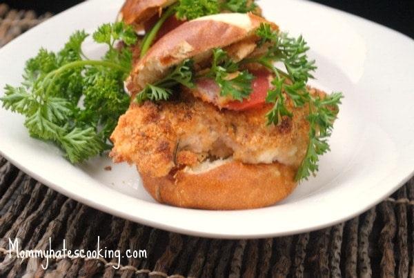 Sister Schubert S Pretzel Roll Italian Chicken Sliders