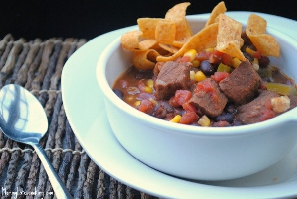 slow cooker taco stew