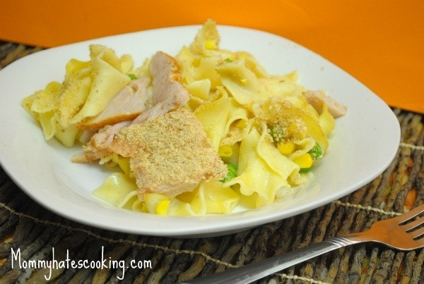 Turkey Noodle Casserole - Mommy Hates Cooking