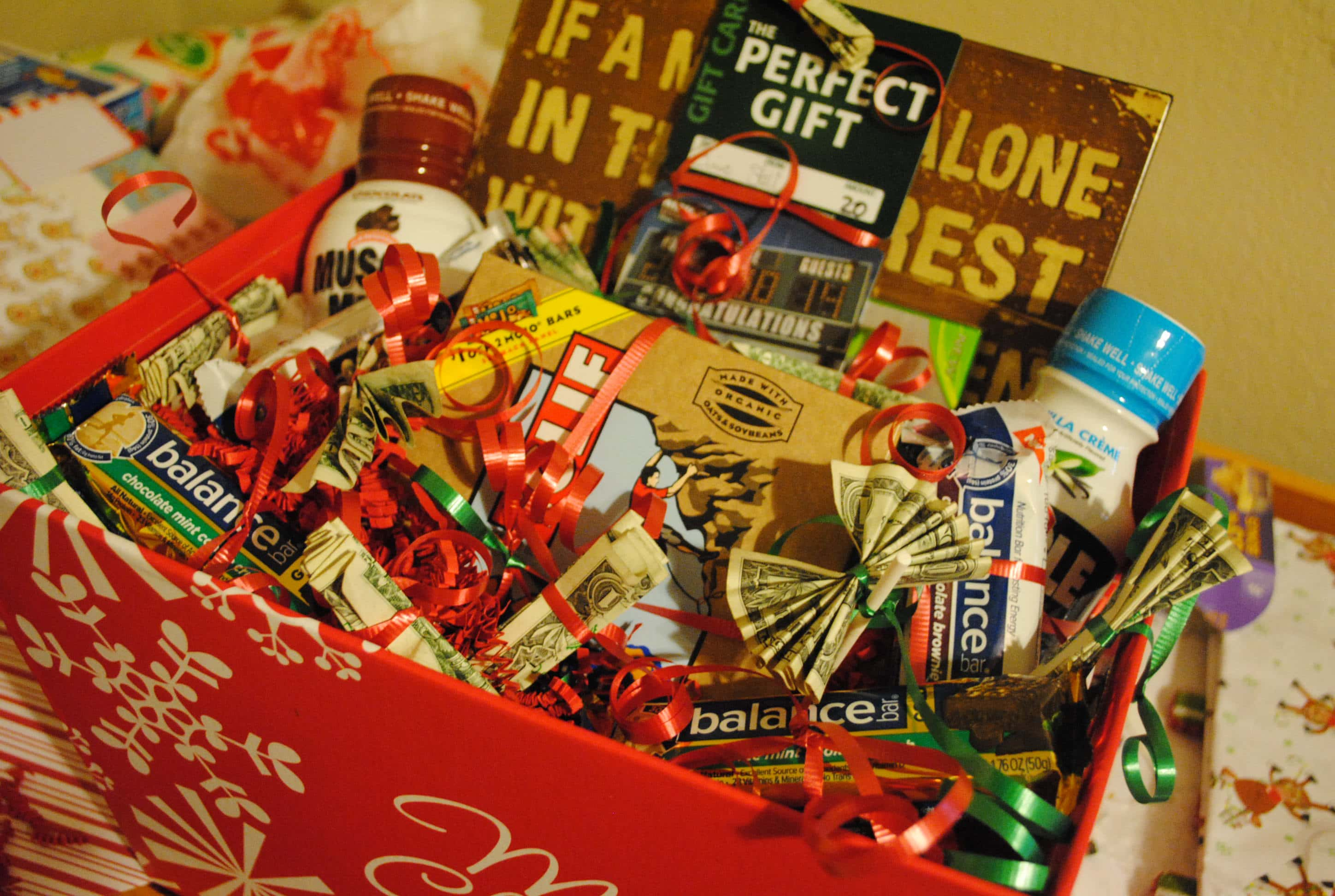 Pinterest Project: Gifts Baskets for Men - Mommy Hates Cooking