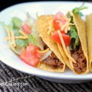 beef taco night