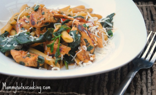 Italian Chicken Spinach Penne