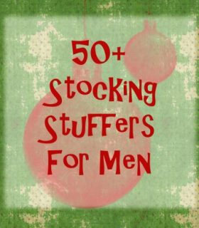 Pinterest Project: Stocking Stuffers for Men