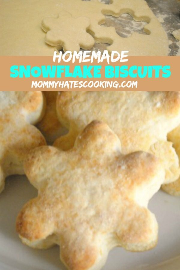 Homemade Snowflake Biscuits