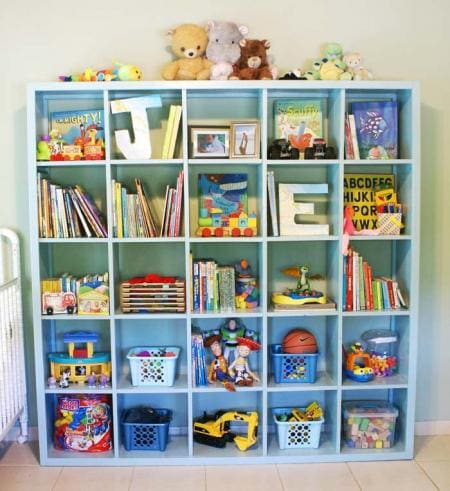 Pinterest Project Homemade Ikea Expedit Bookcase Mommy