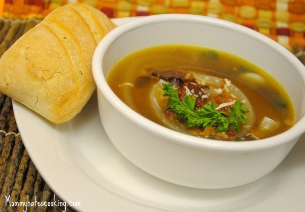 French Onion Soup - Mommy Hates Cooking