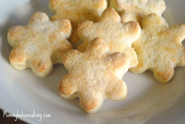 Snowflake Biscuits I Mommy Hates Cooking