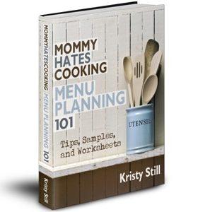 Menu Plan Monday- February 20th, 2012