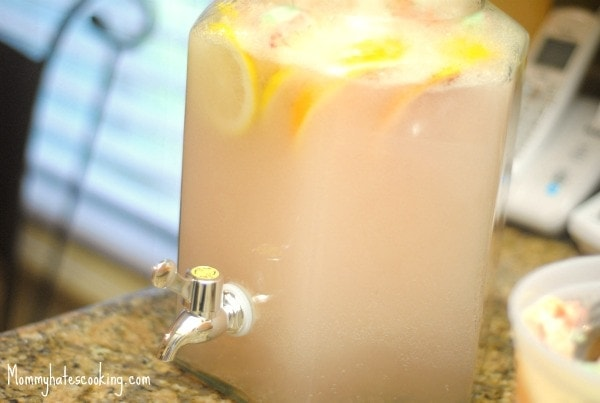 sherbert punch drink