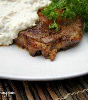 alfredo steaks