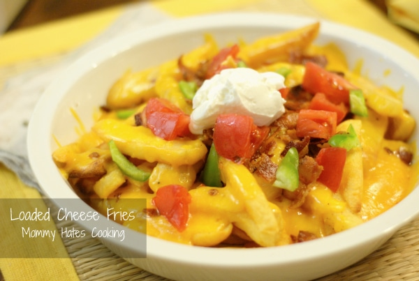 loaded cheese fries