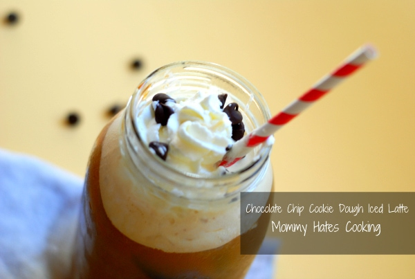 Chocolate Chip Cookie Dough Iced Latte