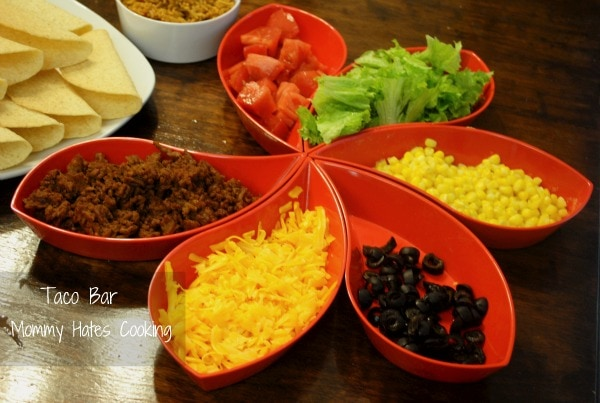 Easy taco bar mommy hates cooking taco bar forumfinder Choice Image