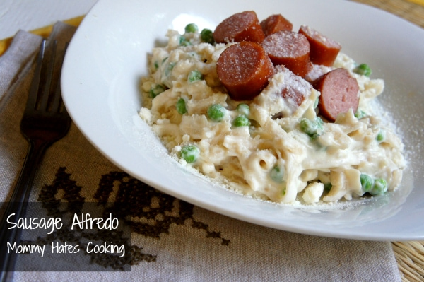 turkey sausage alfredo