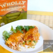 wholly guacamole enchiladas