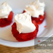 strawberry jello snack