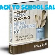menu planning e-book