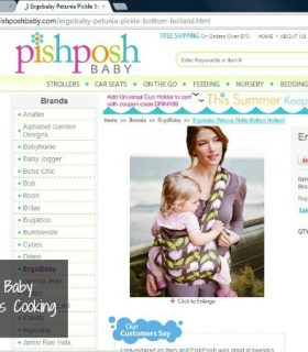 Pregnancy Update and Baby Gear Shopping with PishPosh Baby