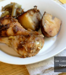 slow cooker onion soup chicken