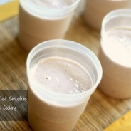 banana mocha breakfast smoothie