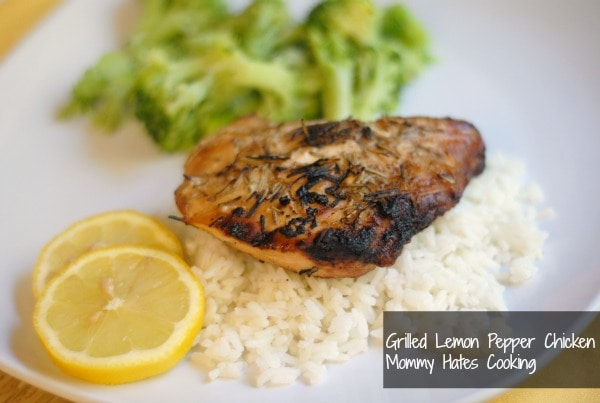Grilled Lemon Pepper Chicken
