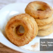 apple cinnamon doughnuts