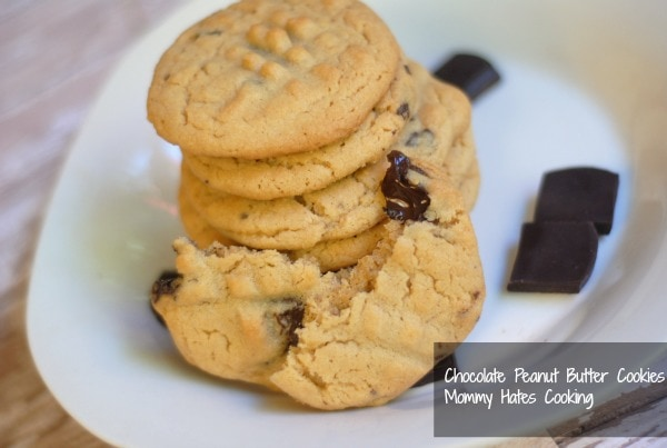 dove dark chocolate peanut butter cookies